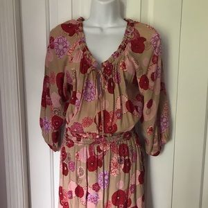 Anthropologie Chelsea & Violet Summer Dress Small